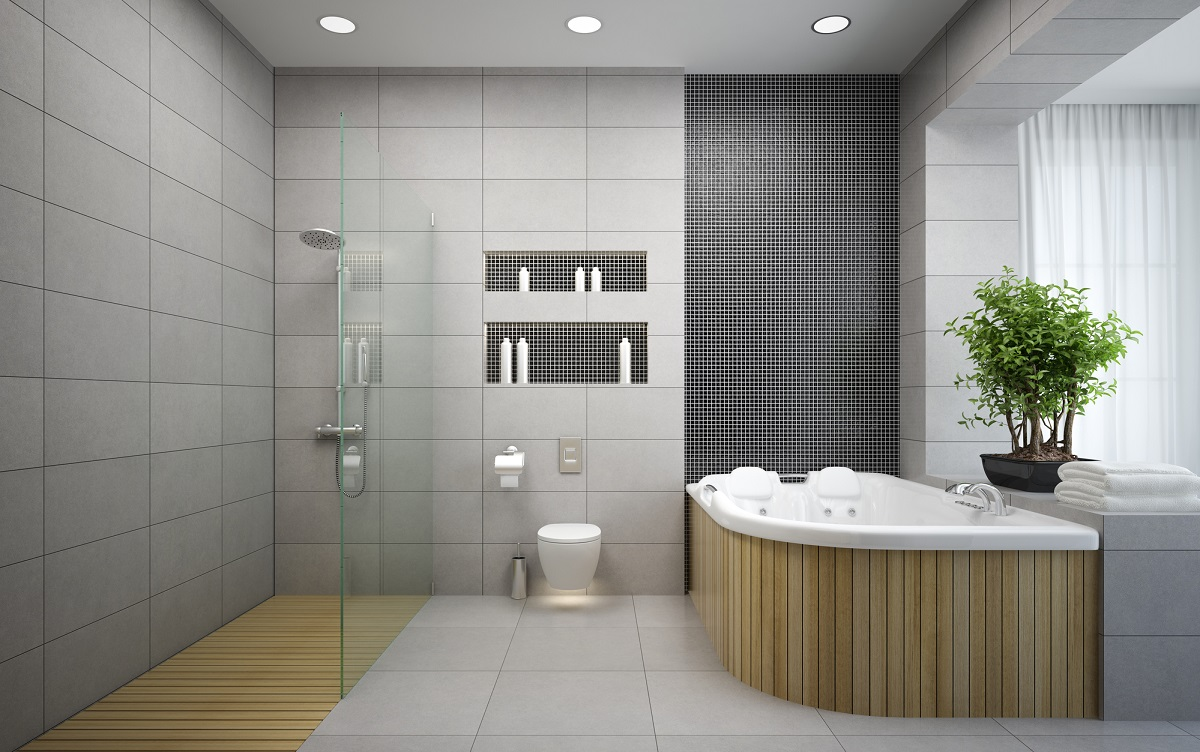 6 inspirational ideas for bathroom recesses for Bathroom bath