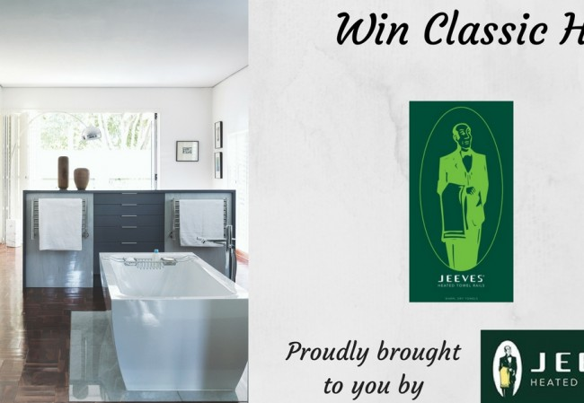 Win a Classic H Jeeves Heated Towel Rail (3)